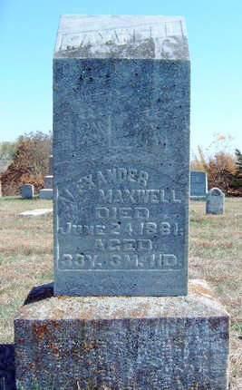 MAXWELL, ALEXANDER - Madison County, Iowa | ALEXANDER MAXWELL