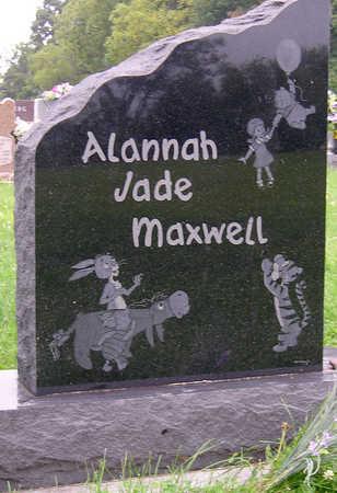 MAXWELL, ALANNAH JADE - Madison County, Iowa   ALANNAH JADE MAXWELL