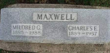 MAXWELL, CHARLES ERICH - Madison County, Iowa | CHARLES ERICH MAXWELL