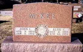 MCKEE, ELSIE CAROLINE - Madison County, Iowa | ELSIE CAROLINE MCKEE