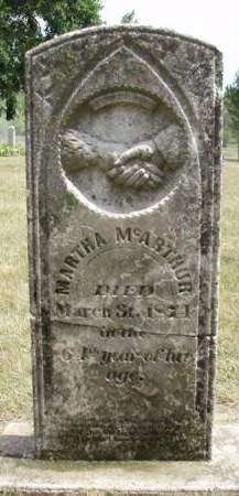 MCARTHUR, MARTHA - Madison County, Iowa | MARTHA MCARTHUR