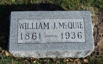 MCQUIE, WILLIAM JOHN - Madison County, Iowa | WILLIAM JOHN MCQUIE