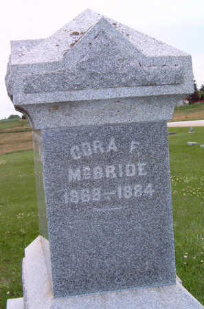 MCBRIDE, CORA FLORILLA - Madison County, Iowa | CORA FLORILLA MCBRIDE