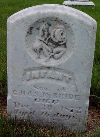MCBRIDE, INFANT - Madison County, Iowa | INFANT MCBRIDE