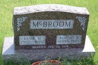 MCBROOM, ESSIE MARIE - Madison County, Iowa | ESSIE MARIE MCBROOM