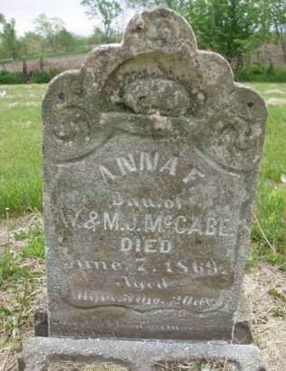 MCCABE, ANNA FRANCES - Madison County, Iowa | ANNA FRANCES MCCABE