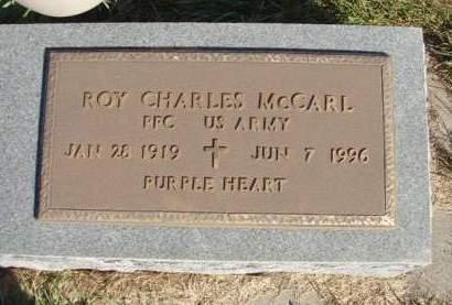 MCCARL, ROY CHARLES - Madison County, Iowa | ROY CHARLES MCCARL