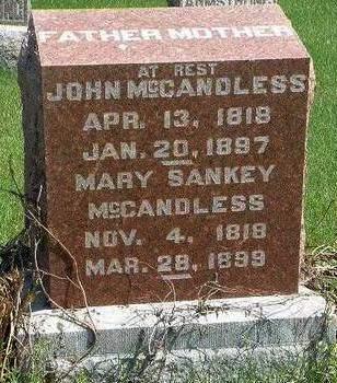 MCCANDLESS, MARY - Madison County, Iowa | MARY MCCANDLESS