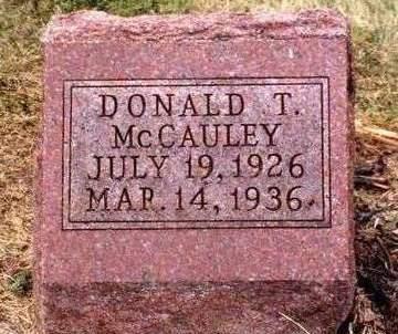 MCCAULEY, DONALD THEODORE - Madison County, Iowa | DONALD THEODORE MCCAULEY