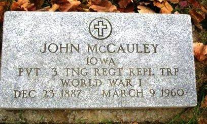 MCCAULEY, JOHN - Madison County, Iowa | JOHN MCCAULEY