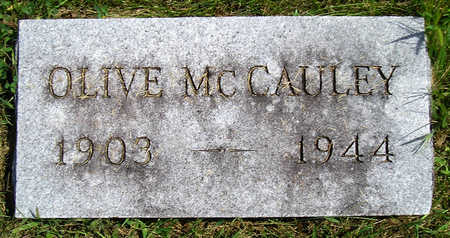 MCCAULEY, MARY OLIVE - Madison County, Iowa | MARY OLIVE MCCAULEY
