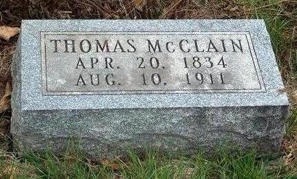 MCCLAIN, THOMAS - Madison County, Iowa | THOMAS MCCLAIN