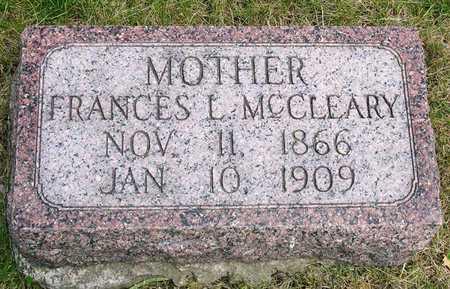MCCLEARY, FRANCES LENORA - Madison County, Iowa | FRANCES LENORA MCCLEARY