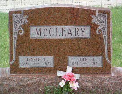 MCCLEARY, JESSIE LUCILLE - Madison County, Iowa   JESSIE LUCILLE MCCLEARY