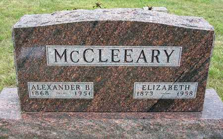 MCCLOSKEY MCCLEEARY, ELIZABETH M. - Madison County, Iowa | ELIZABETH M. MCCLOSKEY MCCLEEARY