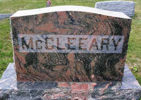 MCCLEEARY, FAMILY HEADSTONE - Madison County, Iowa | FAMILY HEADSTONE MCCLEEARY