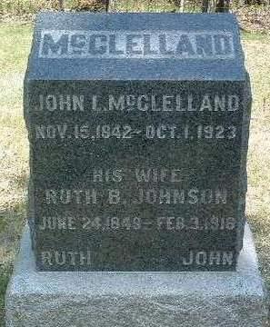 MCCLELLAND, RUTH BENNETT - Madison County, Iowa | RUTH BENNETT MCCLELLAND