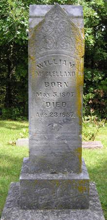 MCCLELLAND, WILLIAM - Madison County, Iowa | WILLIAM MCCLELLAND