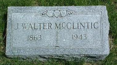 MCCLINTIC, JOHN WALTER - Madison County, Iowa | JOHN WALTER MCCLINTIC