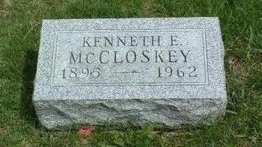 MCCLOSKEY, KENNETH E. - Madison County, Iowa | KENNETH E. MCCLOSKEY