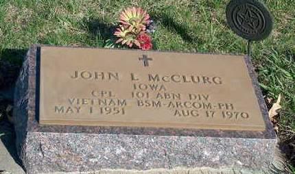 MCCLURG, JOHN LLOYD - Madison County, Iowa | JOHN LLOYD MCCLURG
