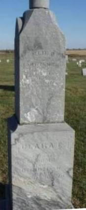 MCCOMB, CLARA ELIZABETH - Madison County, Iowa | CLARA ELIZABETH MCCOMB