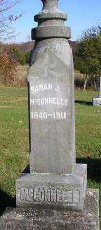 MCCONNELEE, SARAH JANE - Madison County, Iowa   SARAH JANE MCCONNELEE