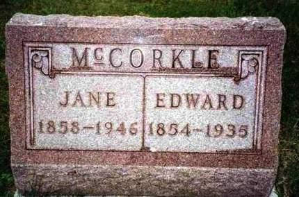 MCCORKLE, EDWARD LINDSEY - Madison County, Iowa | EDWARD LINDSEY MCCORKLE