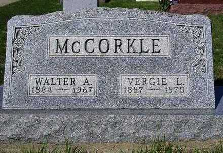 MCCORKLE, VERGIE LEONE - Madison County, Iowa   VERGIE LEONE MCCORKLE