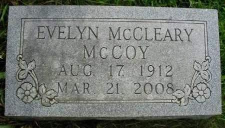MCCLEARY MCCOY, EVELYN IRENE - Madison County, Iowa | EVELYN IRENE MCCLEARY MCCOY