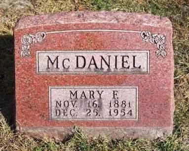 MCDANIEL, MARY FRANCES - Madison County, Iowa | MARY FRANCES MCDANIEL