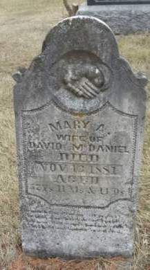 MCDANIEL, MARY ANN - Madison County, Iowa   MARY ANN MCDANIEL