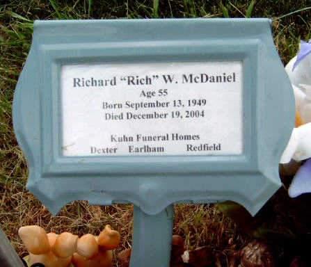 MCDANIEL, RICHARD WAYNE (RICH) - Madison County, Iowa | RICHARD WAYNE (RICH) MCDANIEL