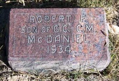 MCDANIEL, ROBERT F. - Madison County, Iowa | ROBERT F. MCDANIEL