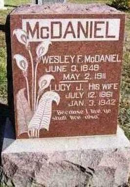 MCDANIEL, LUCY JANE - Madison County, Iowa | LUCY JANE MCDANIEL