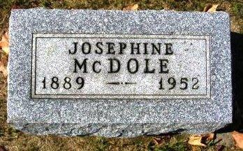 MCDOLE, JOSEPHINE (JOSIE) - Madison County, Iowa | JOSEPHINE (JOSIE) MCDOLE