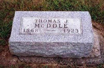 MCDOLE, THOMAS J. - Madison County, Iowa | THOMAS J. MCDOLE