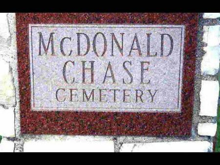 MCDONALD - CHASE, CEMETERY - Madison County, Iowa | CEMETERY MCDONALD - CHASE