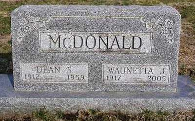 MCDONALD, DEAN S. - Madison County, Iowa | DEAN S. MCDONALD