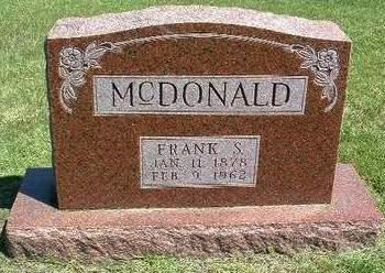 MCDONALD, FRANCIS S.