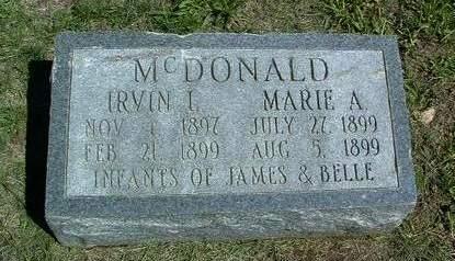MCDONALD, MARIE A. - Madison County, Iowa | MARIE A. MCDONALD