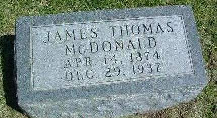 MCDONALD, JAMES THOMAS - Madison County, Iowa | JAMES THOMAS MCDONALD