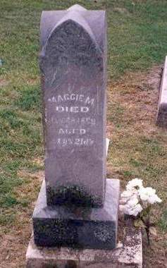 MCDONALD, MAGGIE M. - Madison County, Iowa | MAGGIE M. MCDONALD