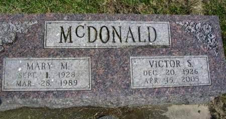 MCDONALD, VICTOR SCOTT - Madison County, Iowa   VICTOR SCOTT MCDONALD