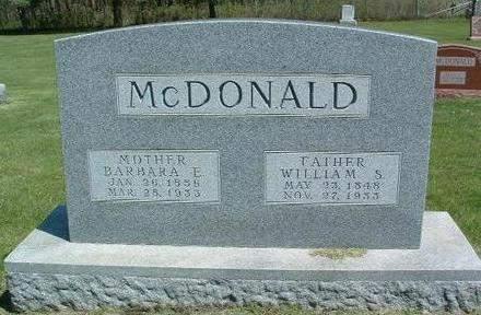 MCDONALD, WILLIAM SCOTT - Madison County, Iowa | WILLIAM SCOTT MCDONALD