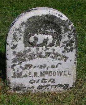 MCDOWELL, NELLIE - Madison County, Iowa   NELLIE MCDOWELL