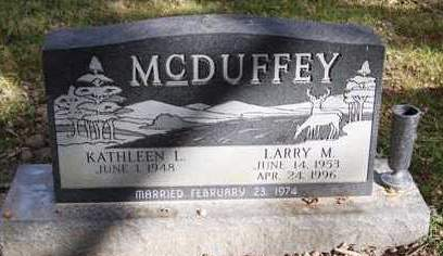 MCDUFFEY, LARRY M. - Madison County, Iowa | LARRY M. MCDUFFEY