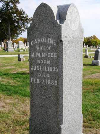 MCGEE, CAROLINE - Madison County, Iowa | CAROLINE MCGEE