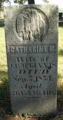 MCGINNIS, CATHERINE M. - Madison County, Iowa   CATHERINE M. MCGINNIS