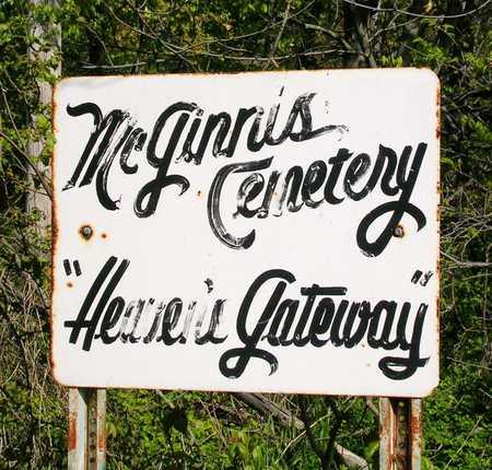 MCGINNIS, CEMETERY - Madison County, Iowa | CEMETERY MCGINNIS